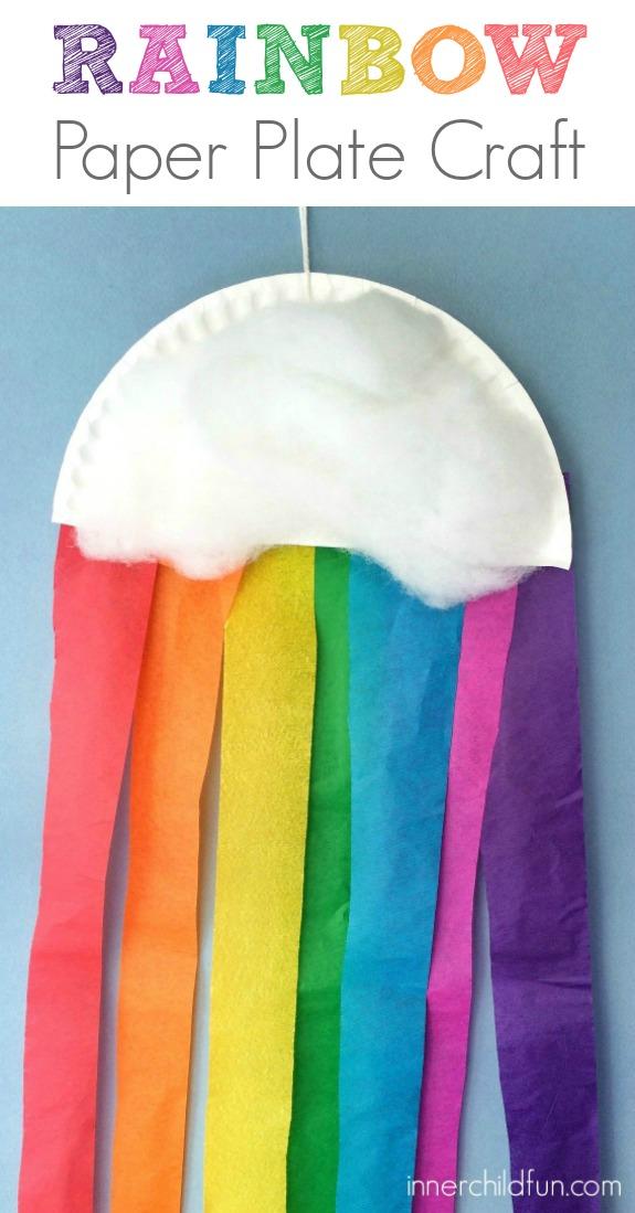 Paper Plate Preschool Crafts