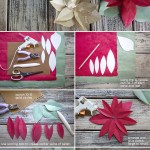 Paper Poinsettia Craft Paperpoinsettiatutorial
