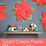 Paper Poinsettia Craft Poinsettia Craft Decor Darice 1