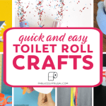 Paper Roll Craft Ideas Quick And Easy Toilet Roll Crafts