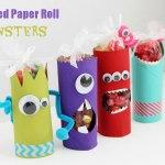 Paper Roll Craft Ideas Toilet Paper Roll Crafts Monsters Crafts Unleashed paper roll craft ideas |getfuncraft.com