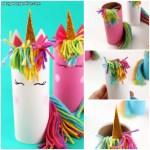 Paper Roll Craft Ideas Unicorn Toilet Paper Roll Craft For Kids paper roll craft ideas |getfuncraft.com