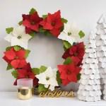 Paper Wreath Craft Dscf6360 paper wreath craft getfuncraft.com