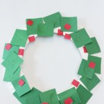 Paper Wreath Craft Paper Plate Wreath 5 paper wreath craft getfuncraft.com
