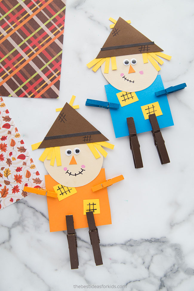 Scarecrow Paper Craft