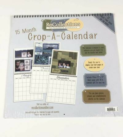 Scrapbook Calendar Ideas with Digital Methods