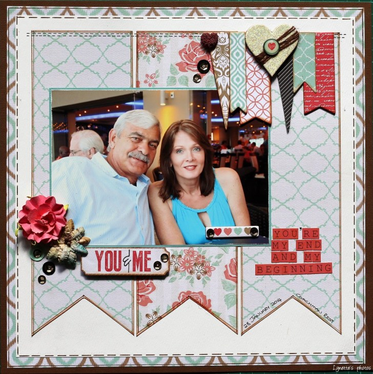 """Scrapbooking Couples Ideas on """"100 Reasons Why I Love You"""""""