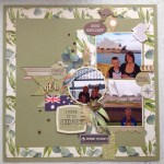 Simple Guidelines To Choose Scrapbook Layouts Open Road Scrapbook Layout