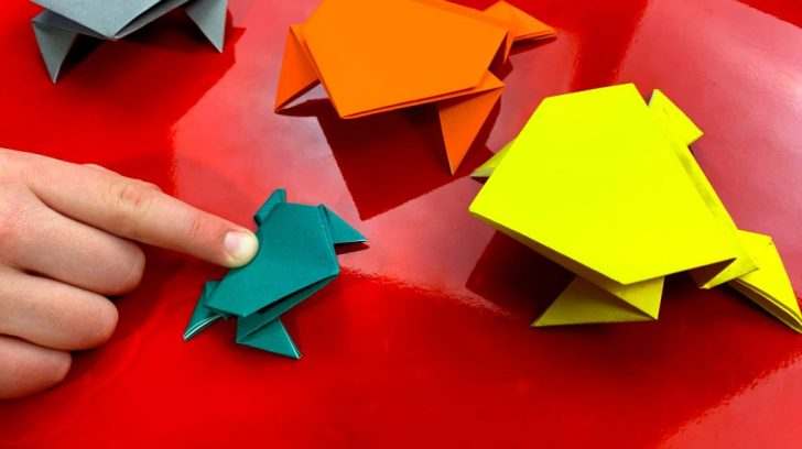 Simple Paper Folding Crafts For Kids