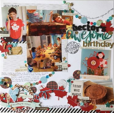 Simple Steps to Create Birthday Scrapbook Ideas Scrapbook Ideas For Getting Your Party Photos On The Page