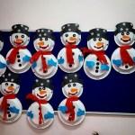 Snowman Paper Plate Craft Paper Plate Snowman Craft Idea snowman paper plate craft|getfuncraft.com