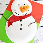 Snowman Paper Plate Craft Snowman Paper Plate Craft snowman paper plate craft|getfuncraft.com