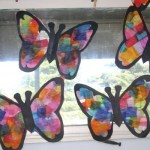 Tissue Paper Butterfly Craft Butterfly Suncatchers Tissue Paper Craft 600x400 tissue paper butterfly craft|getfuncraft.com