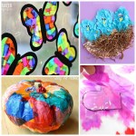 Tissue Paper Crafts Ideas Tissue Paper Crafts 2