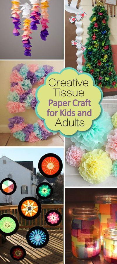 Tissue Paper Crafts Ideas Tissue Paper Crafts tissue paper crafts ideas|getfuncraft.com