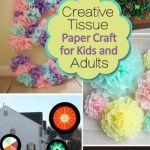 Tissue Paper Crafts Ideas Tissue Paper Crafts