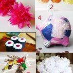 Tissue Paper Crafts Ideas Tissue