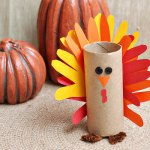Tissue Paper Turkey Craft Paper Tube Turkey Main Image Ieweqy