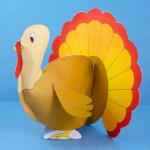 Tissue Paper Turkey Craft Stuffedturkey440