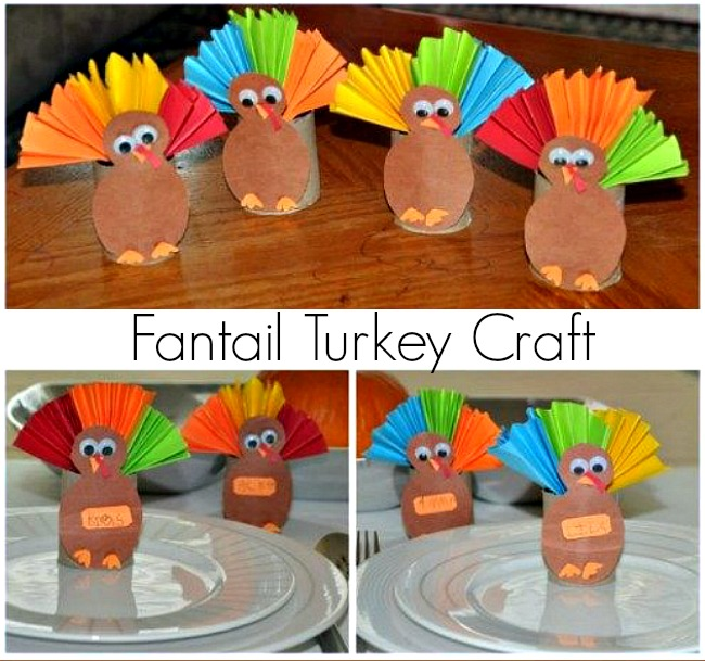 Tissue Paper Turkey Craft Thanksgiving Crafts For Kids With Paper Rolls tissue paper turkey craft |getfuncraft.com