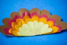 Tissue Paper Turkey Craft Tissue Paper Turkey 8037