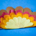 Tissue Paper Turkey Craft Tissue Paper Turkey 8037