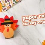Tissue Paper Turkey Craft Toilet Roll Turkey Craft Feature Image tissue paper turkey craft |getfuncraft.com
