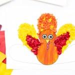 Tissue Paper Turkey Craft Turkey Tissue Paper 3 tissue paper turkey craft |getfuncraft.com