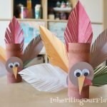 Tissue Paper Turkey Craft Turkey Toilet Paper Roll Craft