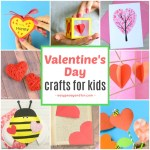 Valentine Paper Crafts Kids Fun Valentines Day Crafts For Kids