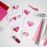 Valentine Paper Crafts Kids Kids Valentines Card Craft Northstory valentine paper crafts kids|getfuncraft.com