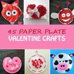 Valentine Paper Crafts Kids Paper Plate Valentine Crafts