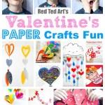 Valentine Paper Crafts Kids Valentines Paper Crafts 1 valentine paper crafts kids|getfuncraft.com