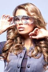 Get Futuristic eyewear shades lookbook featuring Trendsetter and Victoria Bonya (9)