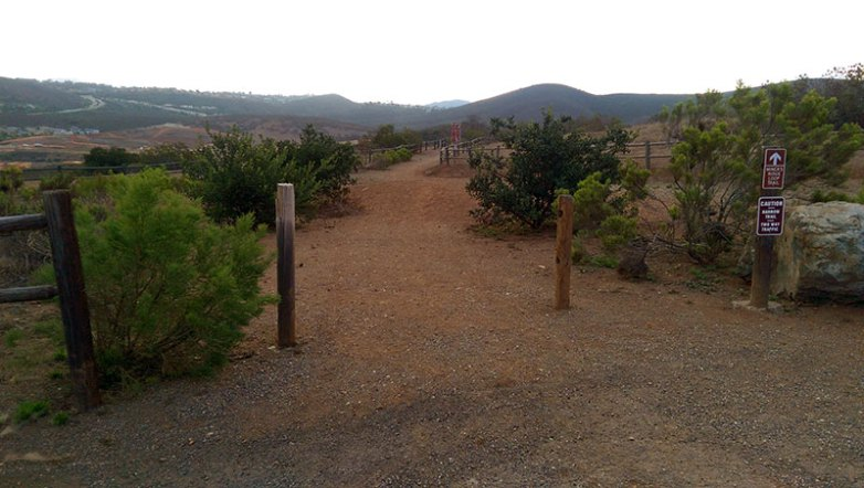 San Diego Hiking: Miner's Ridge Loop Trailhead