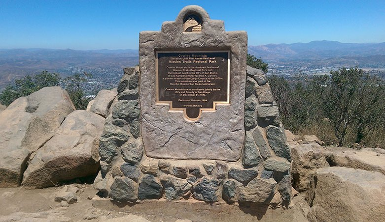 Cowles Mountain Southern Trail