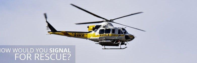 Wilderness Survival Quiz - Rescue Chopper
