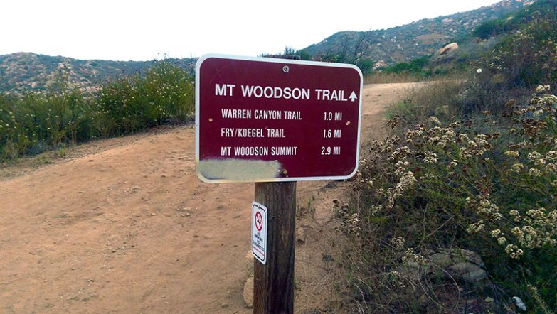 Mt. Woodson Trail