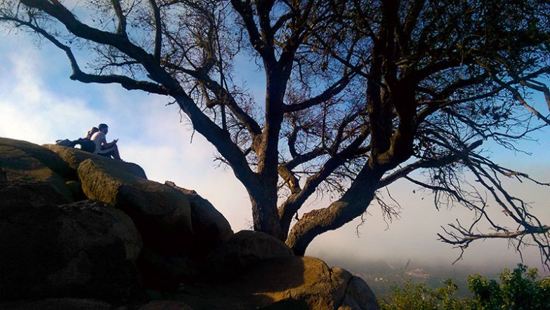 Mt. Woodson Shady Tree Lookout