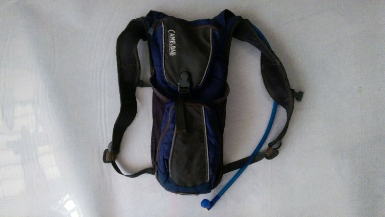 Gear essential #8 - hydration pack with water