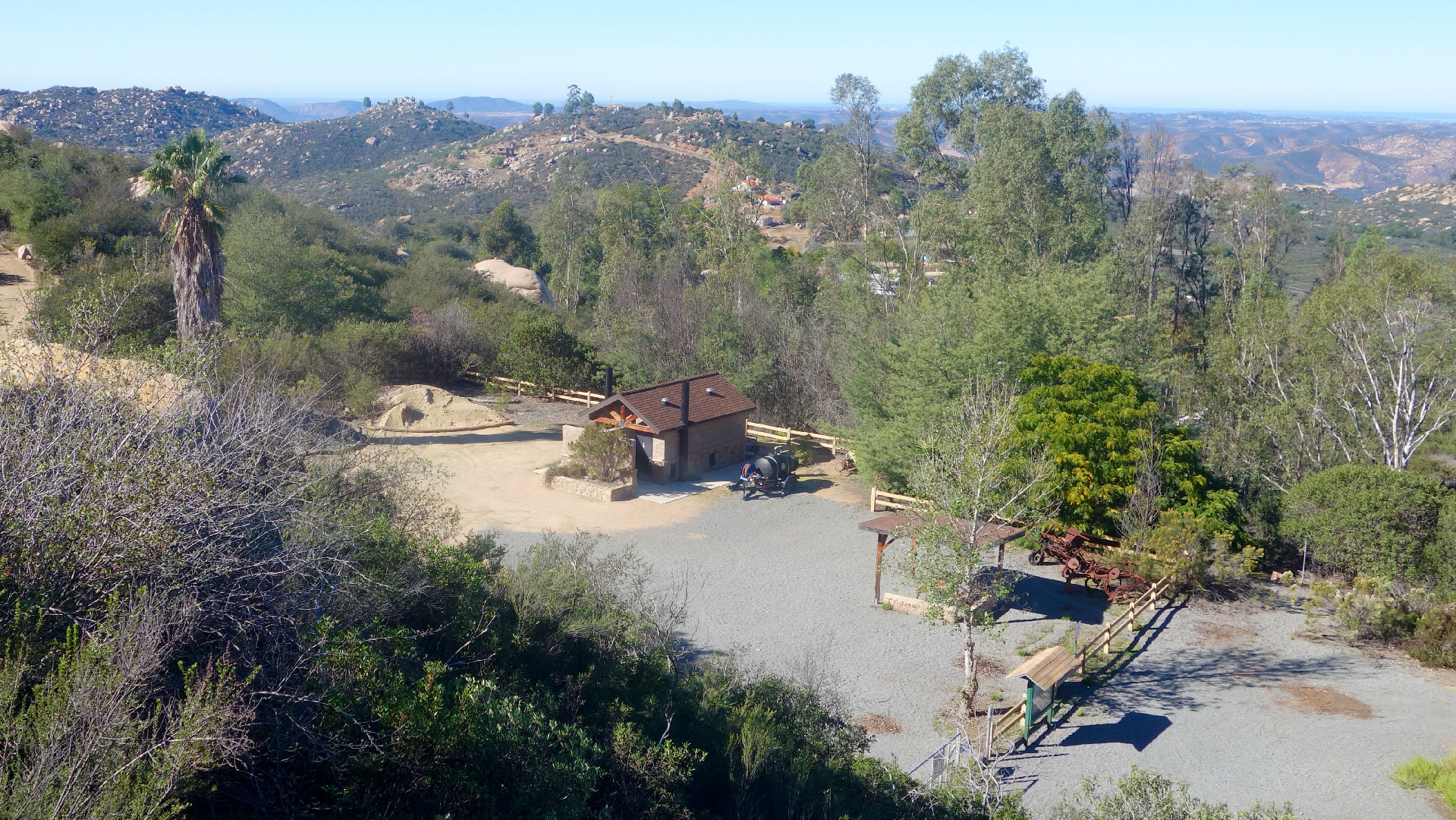 El Cajon Mountain Trailhead Facilities