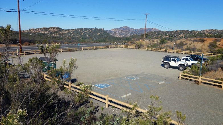 El Cajon Mountain Trailhead Parking Lot
