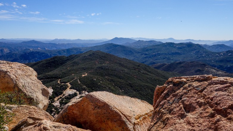 Hike Lawson Peak - summit view
