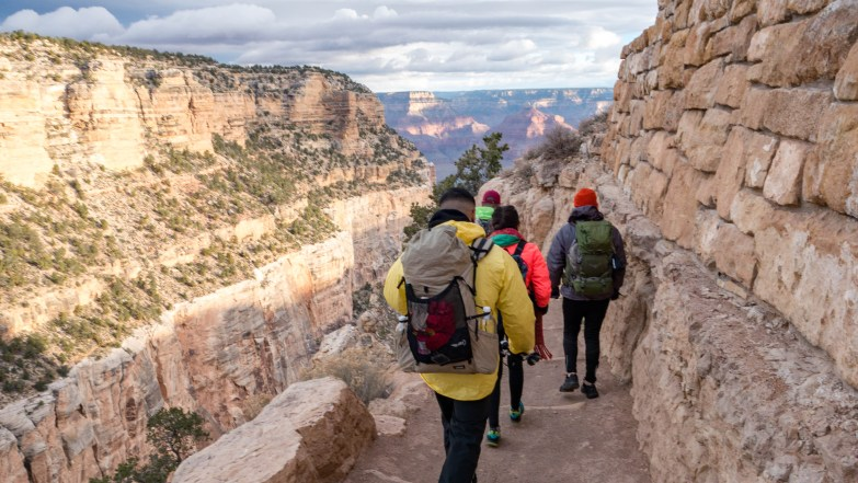 Grand Canyon Bright Angel Trail Hike