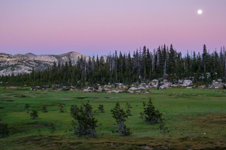 Hiking the John Muir Trail - Sunset Lakes Campground