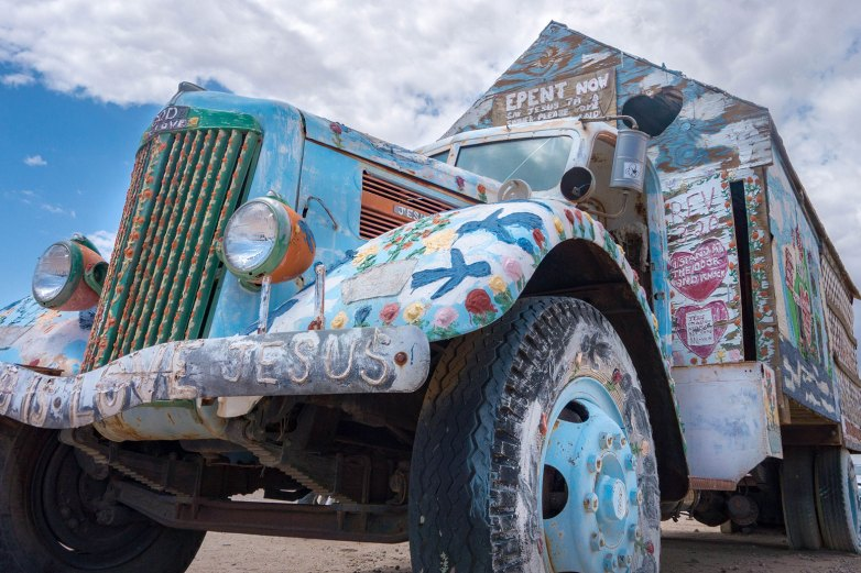Salton Sea - Salvation Mountain