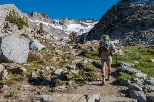 JMT Hike - Day 4, Twolomne Meadows to Donahue Pass