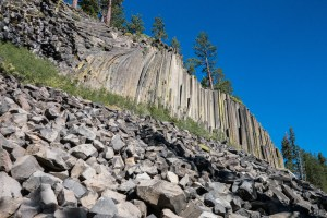 Devil's Postpile Outside Red's Meadow on the JMT