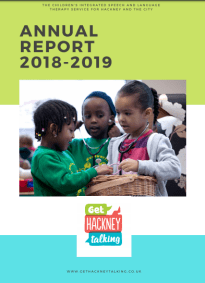 front page of annual report
