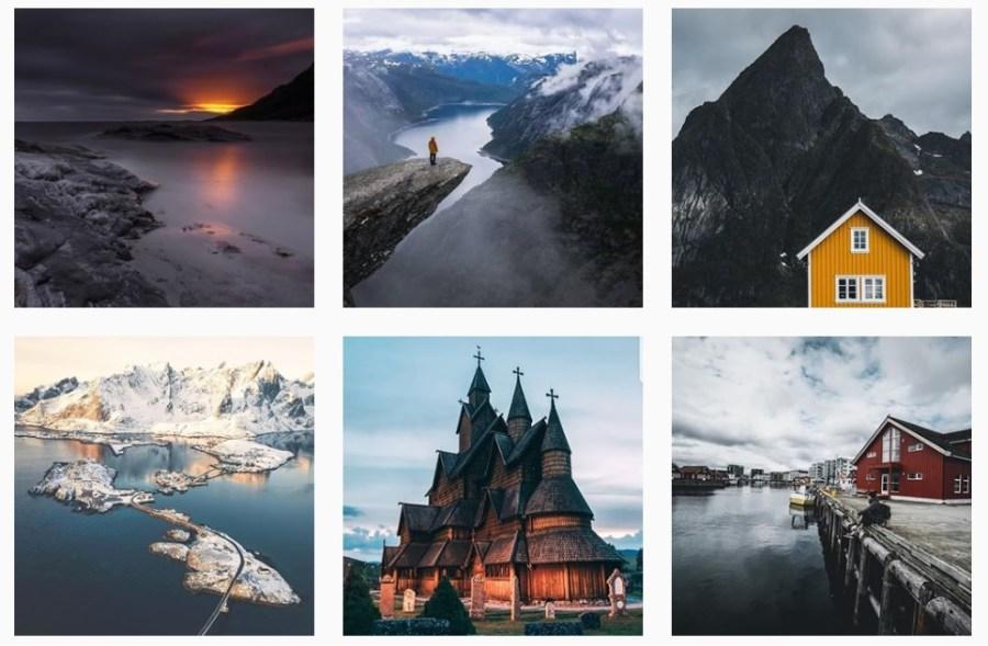 Skandynawia na Instagramie
